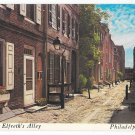 PA Philadelphia Historic Elfreth's Alley Early American Street Vintage WYCO Postcard