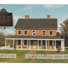 Rock Ford Lancaster PA Home Revolutionary War General Hand Vintage Jim Hess Postcard