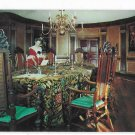 Williamsburg Virginia Capitol Council Chamber Vintage 1951 Walter Miller Postcard