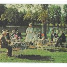 Smithville Inn Cocktails on the Lawn Absecon NJ Vintage Postcard