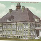 West Chester PA Model School Ruby Jones Hall Biehn Bicentennial Repro 199 Postcard 4X
