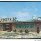 Lumberton NC Blanchard's Restaurant Unused Chrome 50's 60's AAA Postcard