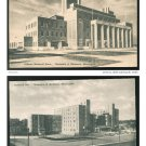 Lot of 2 University of Minnesota Coffman Memorial Union Comstock Hall Albertype Postcards