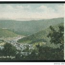 Mauch Chunk PA from Mt Pisgah UND 1905 German Litho Used UND Postcard