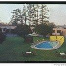 California Motel Travelers Rest Pool Car Eureka CA 1960s Postcard