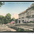Pocono Mountains The Inn Buck Hill Falls PA  Hand colored Albertype Postcard
