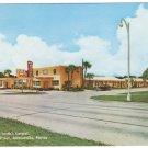 FL Ace Motel South's Largest Jacksonville Florida Vintage Postcard