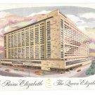 Queen Elizabeth Hilton Hotel Le Reine Elizabeth Montreal Canada Vintage Postcard