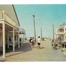 NJ Boardwalk Scene Avalon New Jersey Vintage Postcard