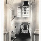 Philadelphia PA Independence Hall Interior Tower Liberty Bell 1937 K F Lutz Postcard