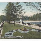 PA Reading View of Reservoirs Vintage ca 1910 Langdorf Postcard