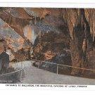 VA Luray Caverns Entrance to Ballroom Cave Marken & Bielfeld Vntg Postcard