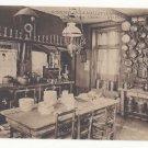 France Gonneville La Mallet Hotel Aubourg Cuisine Kitchen Vtg c 1910 Neurdein Postcard