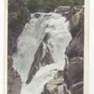 Lake Placid NY Wilmington Notch High Water Falls Vintage Tichnor Postcard