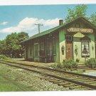 Riverside Danville PA PRR Village Sampler Store Railroad Station Vintage Postcard