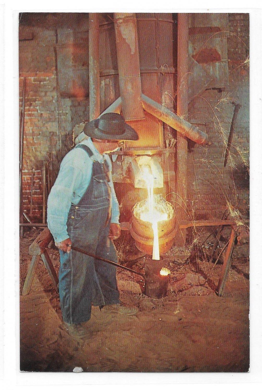 PA Brunnerville Iron Foundry Henry Bucher Ironmaster Mel Horst Vintage Postcard