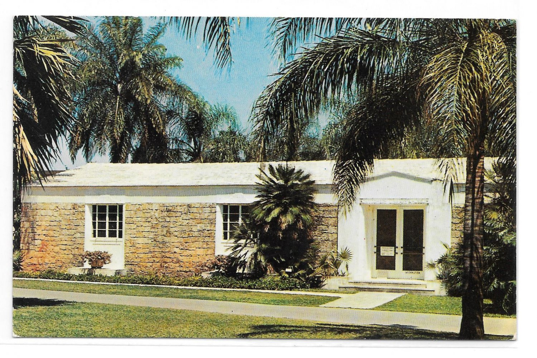 FL Montgomery Museum Fairchild Gardens Coral Gables Vintage Postcard
