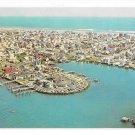 Stone Harbor NJ Aerial View Yacht Club Harold Hemming Vintage Postcard