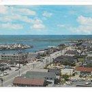Stone Harbor NJ Aerial Birds Eye View Entrance to Business District Vintage Postcard
