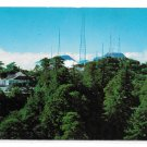 CA TV Towers and Mt Wilson Hotel Sierra Madres Vintage Postcard