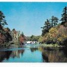 PA Stodardsville Falls Old Grist Mill Pennsylvania Vintage Pocono Mountains Postcard