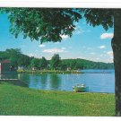 NJ Lake Musconetcong State Park Beach Morris County Vintage New Jersey Postcard