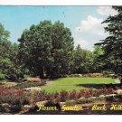 Buck Hill Falls PA Pocono Mountains Flower Garden at the Inn Albert Koster Postcard
