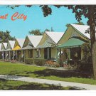 Ocean Grove NJ Tent City 1960s Vintage New Jersey Postcard