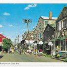 Bearskin Neck Rockport Cape Ann MA Street Shops Vntage iPostcard