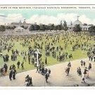 Canada Toronto National Exhibition Grounds EXPO Vintage 1931 Valentine Black Postcard