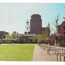 Philadelphia PA Independence Hall 1950s View South Young Trees on Mall Postcard