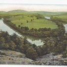 Reading PA Aerial View Schuylkill River from Lookout Point Langdorf Vintage ca 1910 Postcard