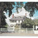NH Portsmouth Early American House Governor John Langhorn Vintage Postcard