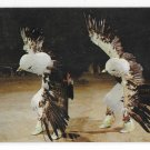 Eagle Dancers Native American Ceremonial Wisconsin Dells Indians WI 1961 Postcard