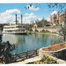 Florida Walt Disney World Cruising Rivers of America Steamer Sternwheeler Postcard