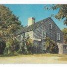 John Alden House Duxbury MA built in 1653 Massachusetts Vintage Postcard
