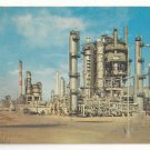 DE Tidewater Oil Company Plant Delaware City Refinery Vintage Postcard