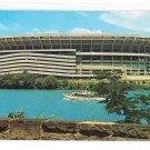 Three Rivers Stadium Pittsburgh PA Pirates Steelers Sports Vintage Postcard