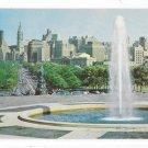 Philadelphia PA Skyline Art Museum Fountain Benjamin Franklin Parkway 1960 Postcard