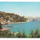 CA Marin County Hill View of Sausalito San Francisco Bay Vintage The Gray Line Postcard