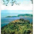 France Cote d'Azur Eze le Cap Ferrat French Riviera Vintage YVON Hi Gloss 4X6 Postcard
