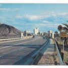 AZ Tempe Arizona View of City Across Bridge Vintage Bob Van Luchene Photo Postcard