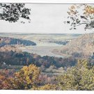 PA Washington Crossing State Park View from Bowman's Hill Bucks County Vintage Postcard