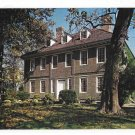 PA Philadelphia Germantown Stenton Mansion Logan House Vintage 1960s Postcard