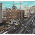 CA San Diego 60s Aerial View Looking East on Broadway Ellis Sawyer Photo Postcard
