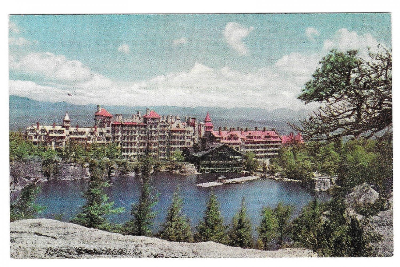 Lake Mohonk Mountain House New Paltz NY Catskills Vintage Postcard
