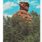 Old Scotchman Harry Lauder Rock Formation Pikes Peak CO Garden of the Gods Vntg Postcard