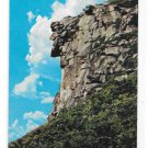 Old Man of the Mountain Rock Formation Franconia Notch NH White Mountains Vntg 1950s Postcard