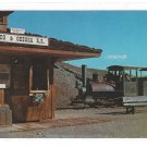 Calico & Odessa Railroad Train Depot California Mining Ghost Town Vintage RR Postcard