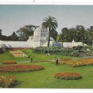 San Francisco CA Golden Gate Park Conservatory Vintage California Postcard